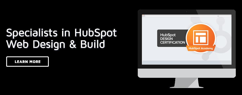 HubSpot UK website design