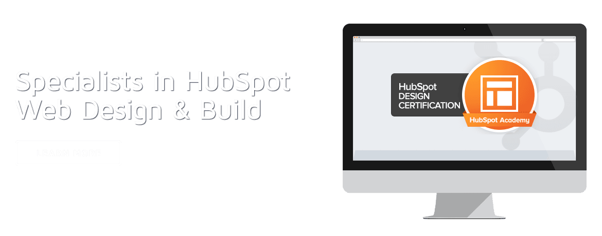 Specialists in HubSpot web design and build