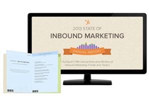 HubSpot 2013 State of Inbound Marketing Report