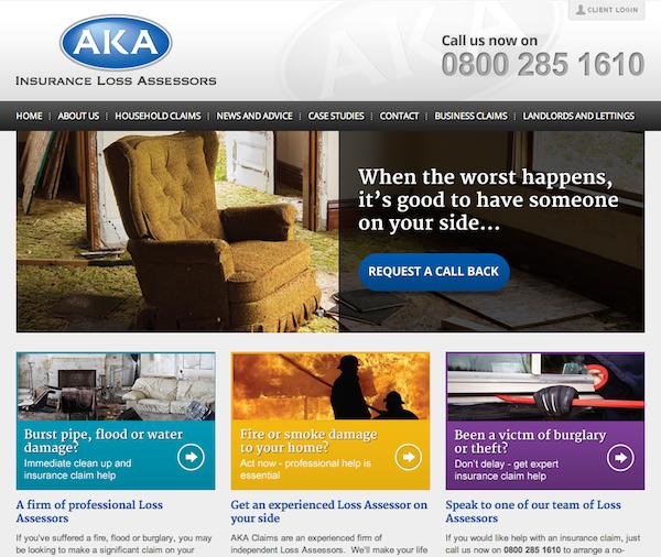 AKA Claims HubSpot Website Design